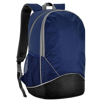 Backpack S02-474LAP-02 - Navy Blue